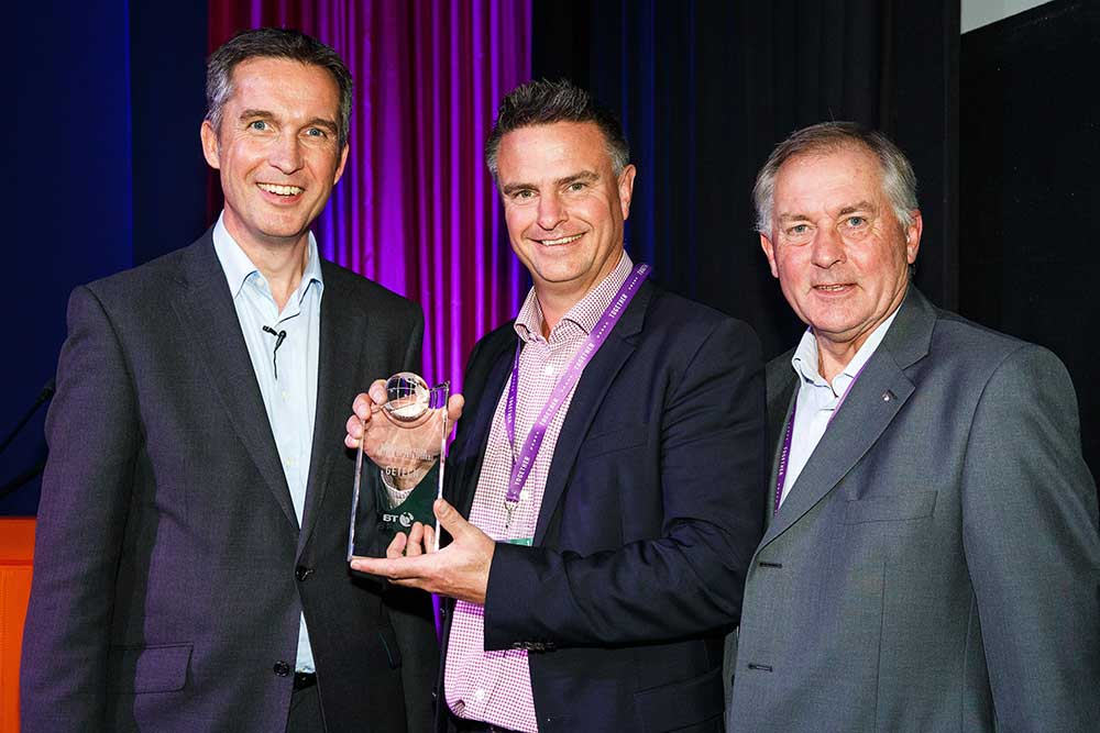BT Distributor of the Year 2015-2016 award presentation