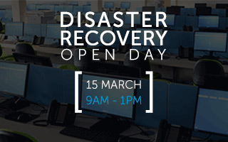 Disaster Recovery Open Day, 15 March 2017