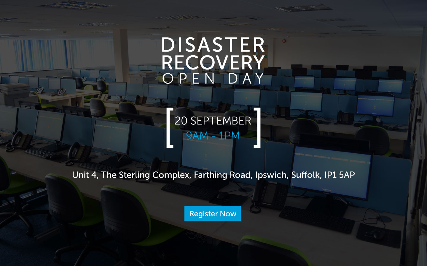 Disaster Recovery Open Day, 20 September 2017